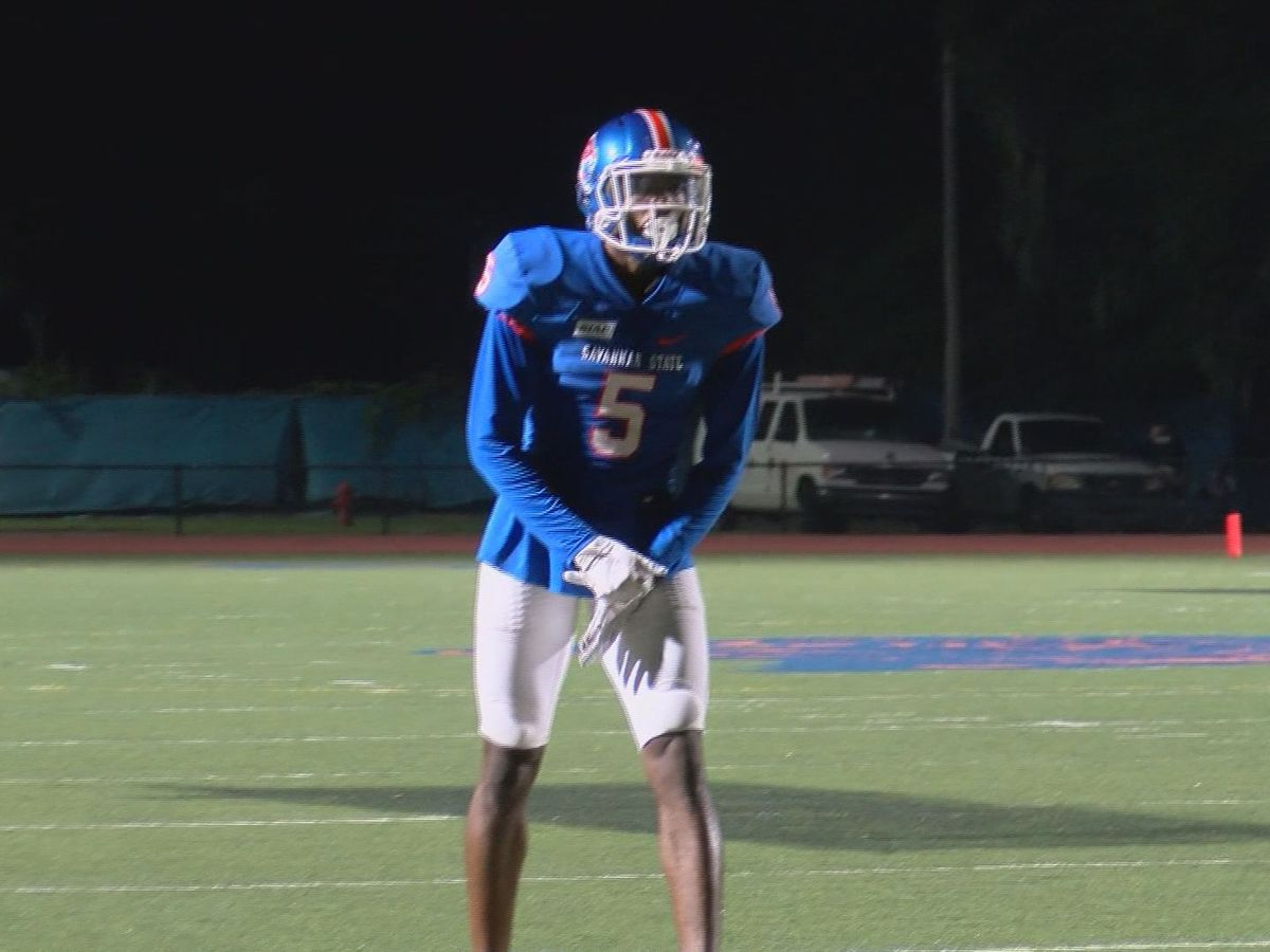 SSU football player dedicating season to home country devastated by Dorian