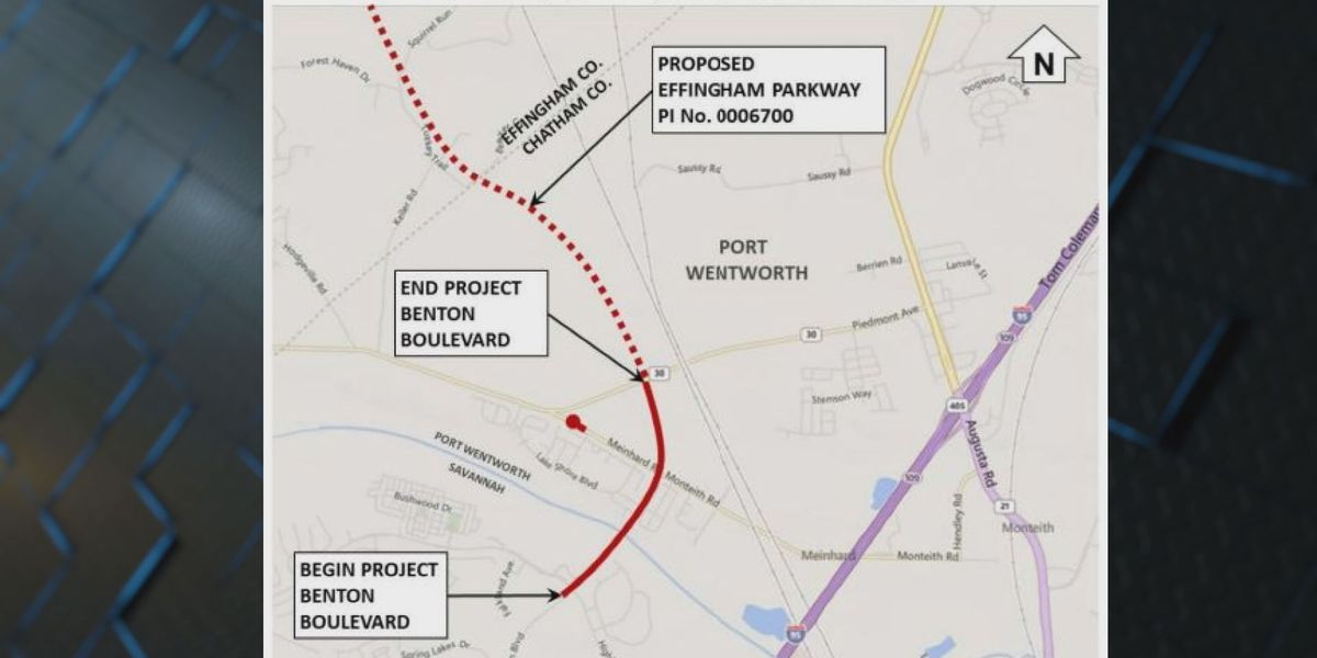 Chatham Co. Commission approves acquisition of right-of-way for Effingham Parkway Project
