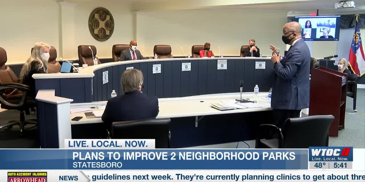 Plans approved to improve two Statesboro parks