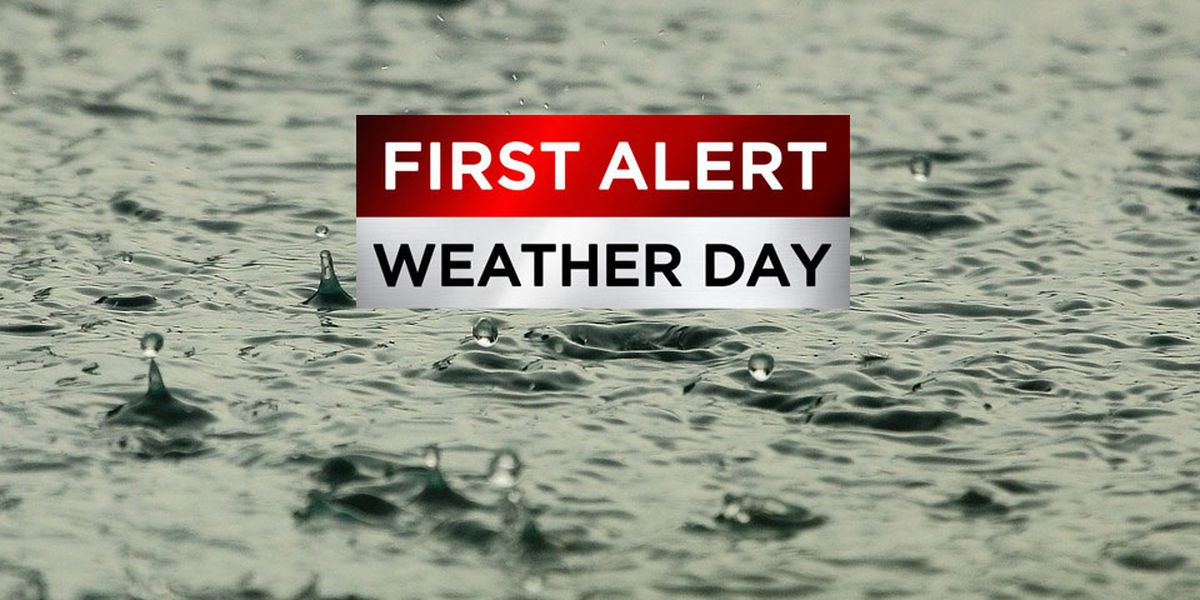 First Alert Weather Days: Few Tuesday evening storms, widespread Wednesday rain