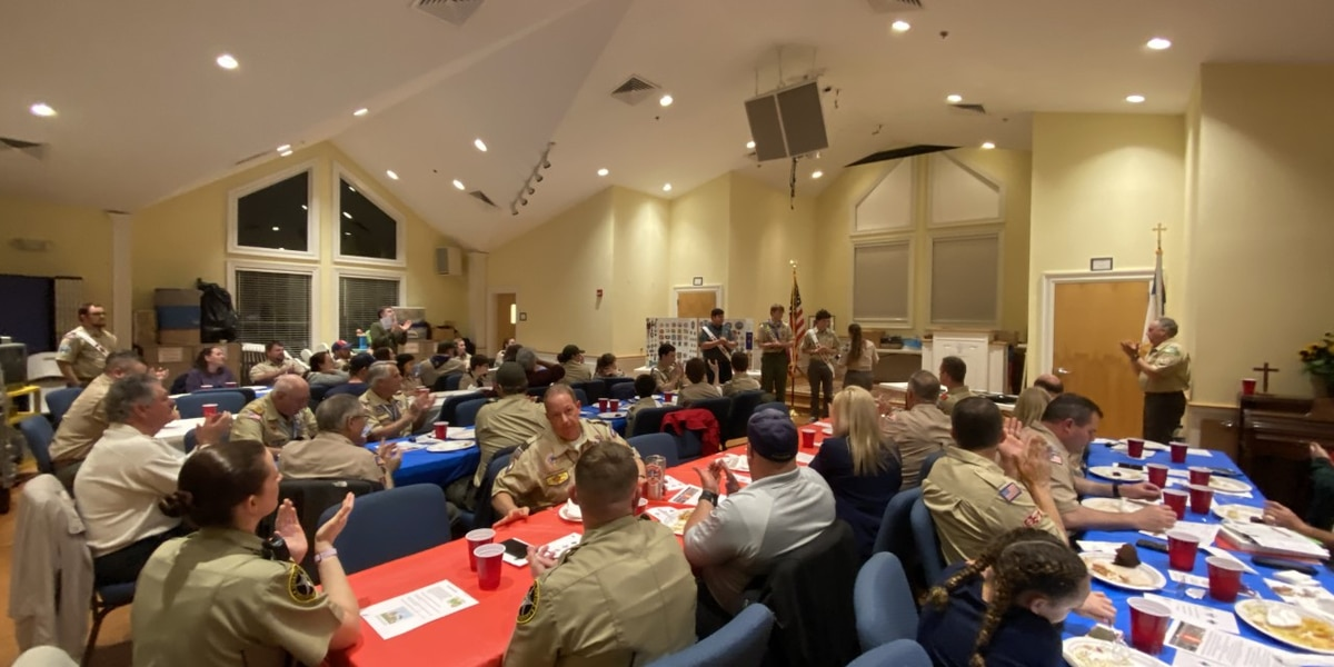 Lowcountry Scout District holds annual Awards Banquet and Gathering of Eagles