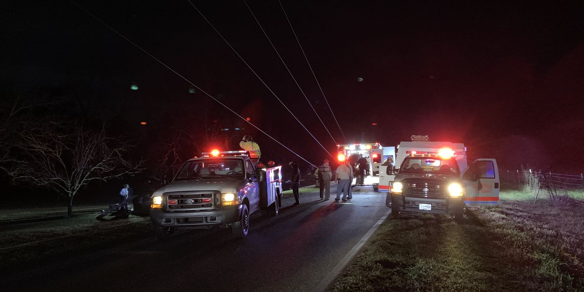 Fatal crash in Tattnall County overnight knocks out power