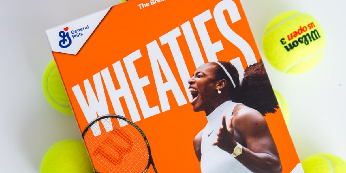 Serena Williams becomes second black woman tennis player on Wheaties box