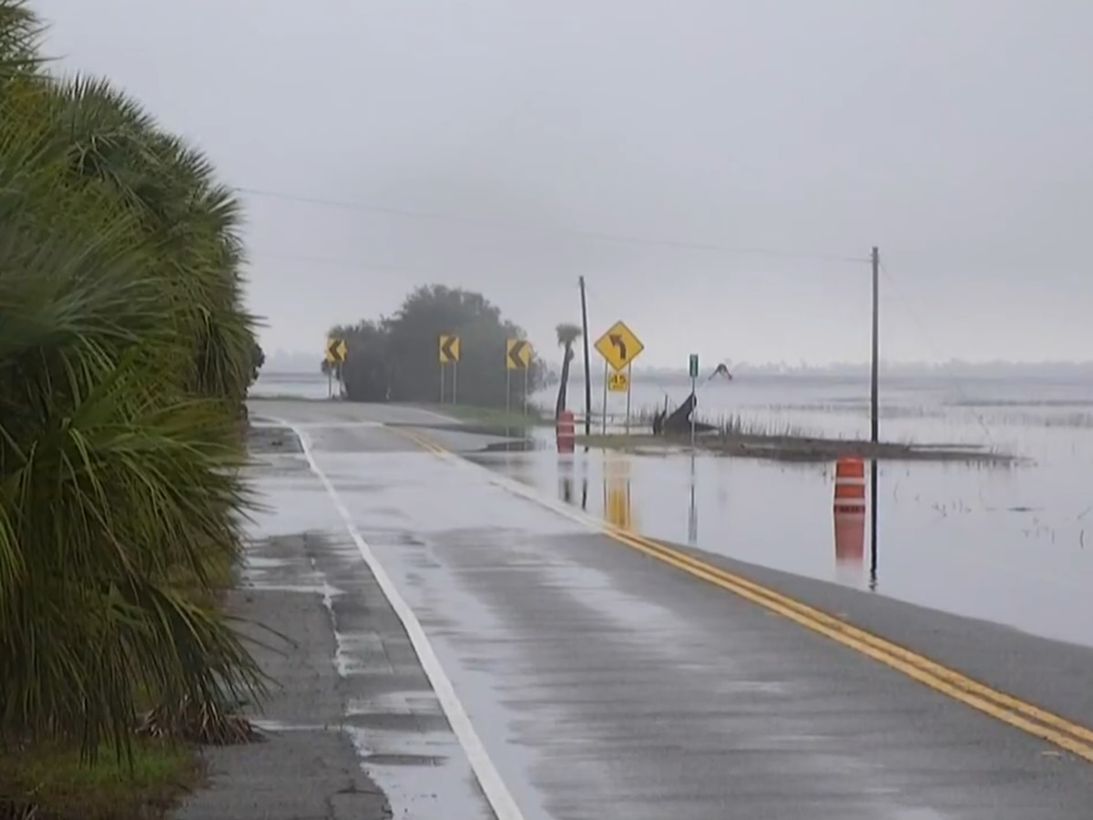 All of Hwy 80 back open following coastal flooding