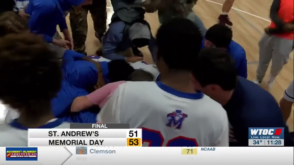 Memorial Day downs St. Andrew's on buzzer beater