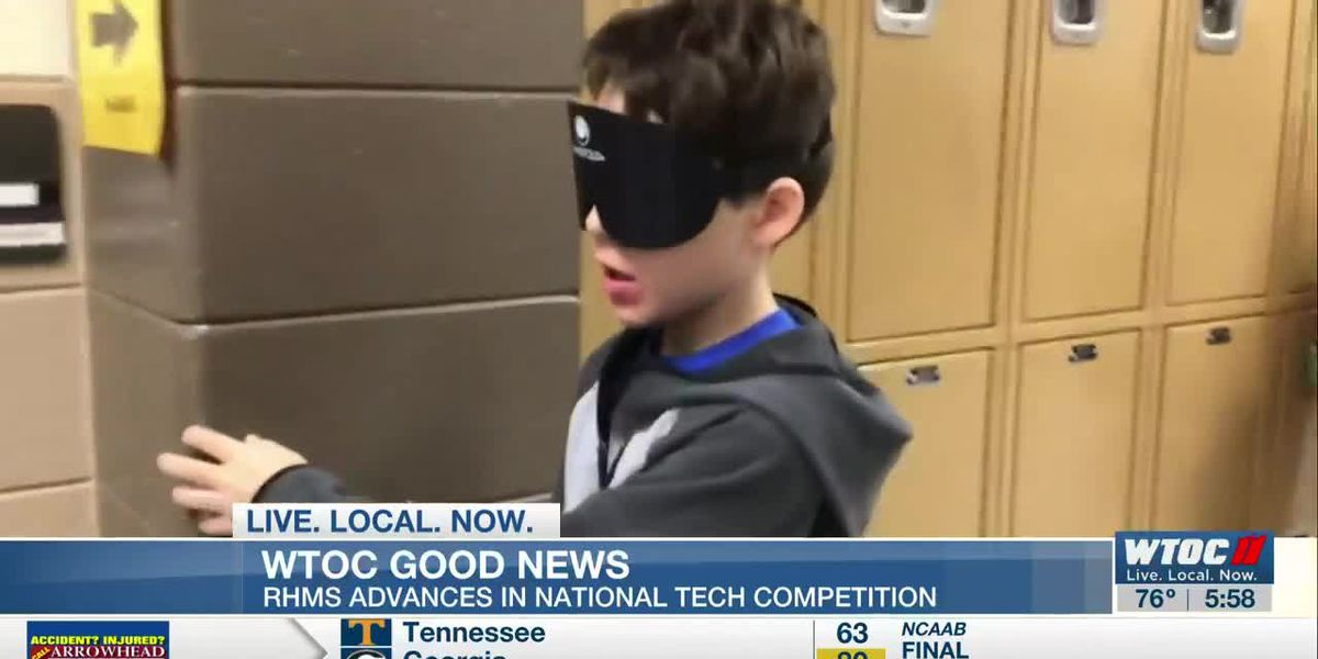 Good News: RHMS advances in National Tech Competition