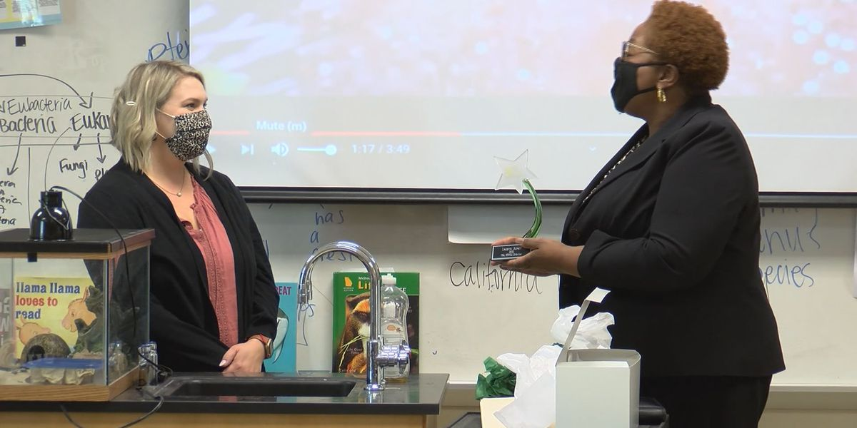 Richmond Hill teacher presented with 2021 Georgia STEM Scholar Award