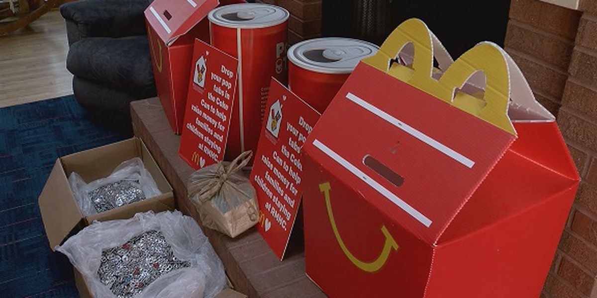 Bloomingdale Elementary donates thousands of pop tabs to Ronald McDonald House