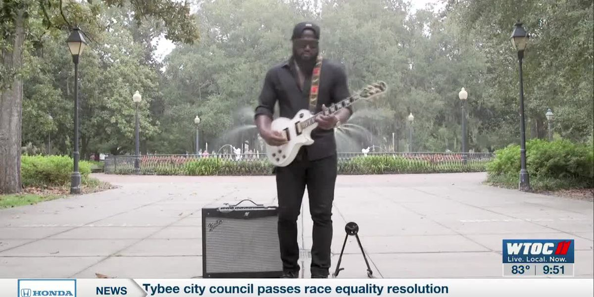 Savannah Square Sessions: Yikes performs his latest blues track 'Blues Me'