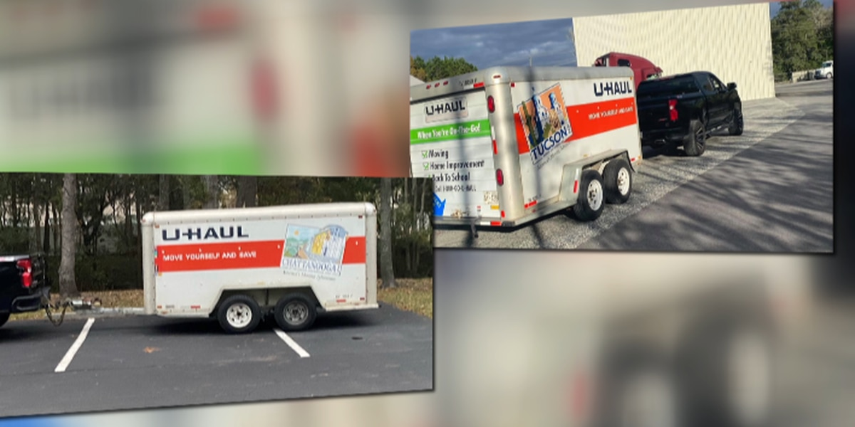 U-Haul trailer containing Army Awards stolen from service member in Savannah