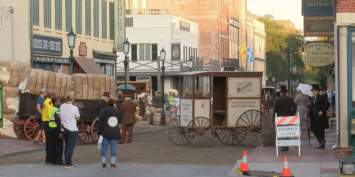 Filming to affect downtown Savannah traffic for several days