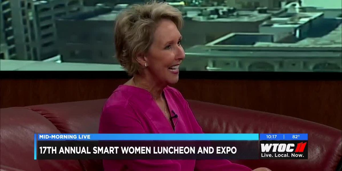 Gaye Reese announces the 17th annual Smart Women Luncheon and Expo