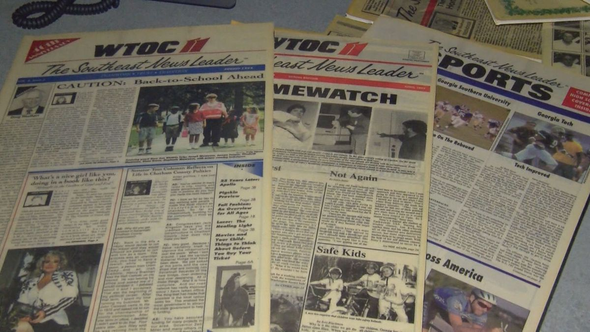 WTOC's 65th Anniversary: The 'Southeast News Leader'
