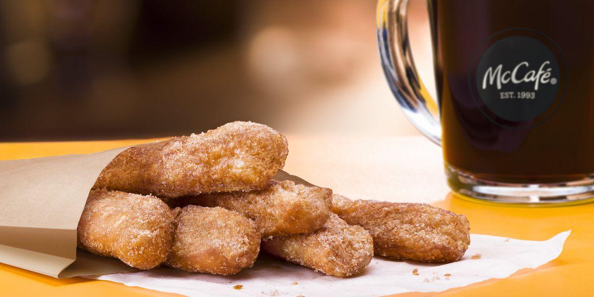 McDonald's adds Donut Sticks to breakfast menu