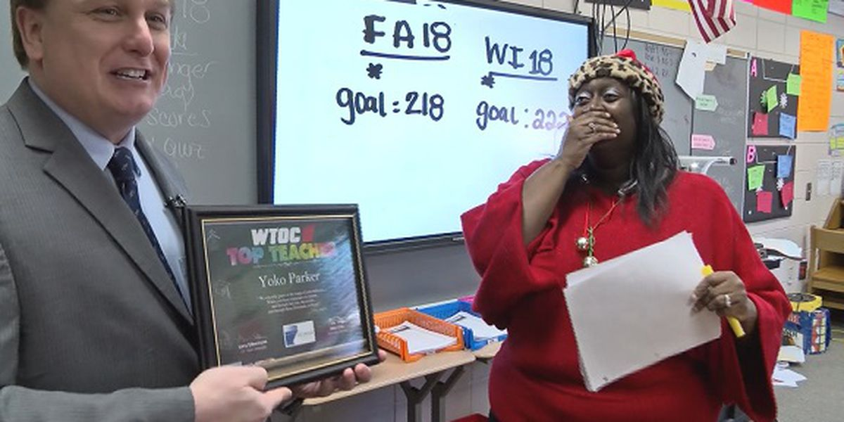 Top Teacher: Yoko Parker, Midway Middle School