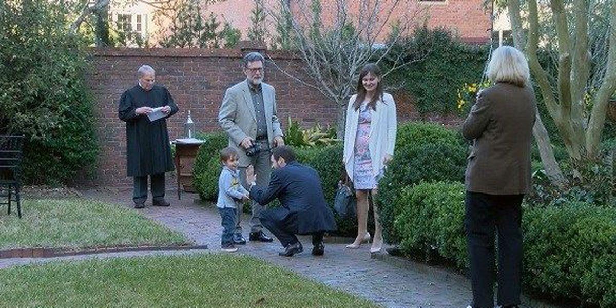 10-minute weddings held at Davenport House in Savannah