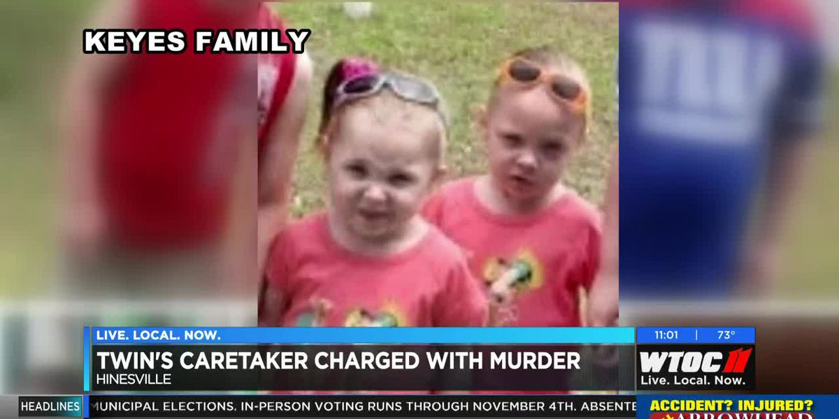 Foster parent arrested, charged with murder after death of twins in Hinesville
