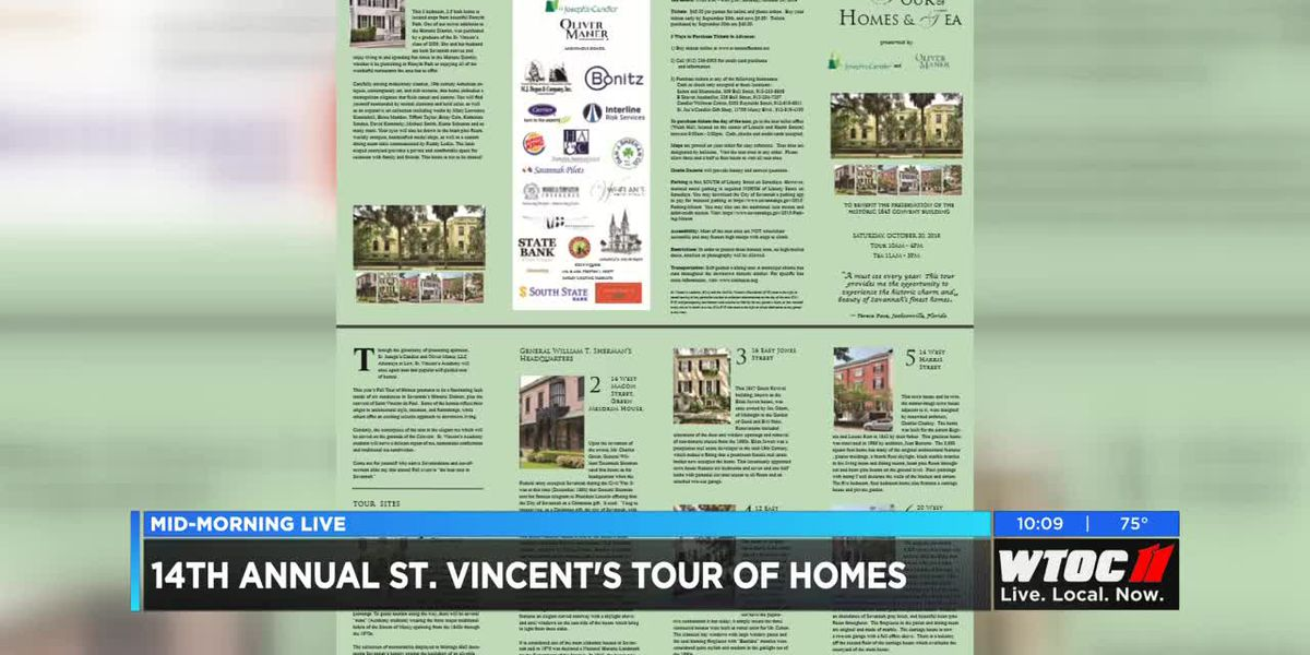 14th Annual St. Vincent's Academy Tour of Homes