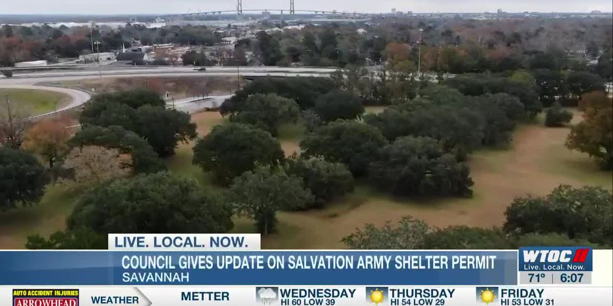 Savannah councilwoman holds news conference to discuss shelter proposal