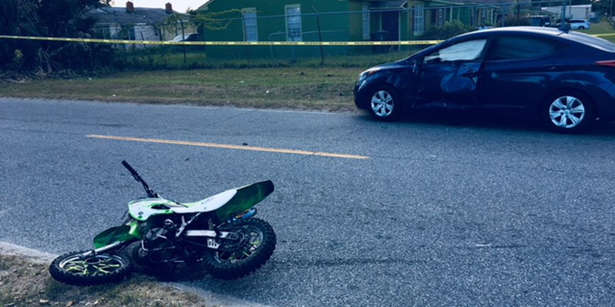 Dirt bike driver seriously injured in crash on Damon Street in Savannah