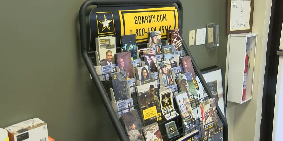 Military recruitment has been drastically impacted by coronavirus pandemic