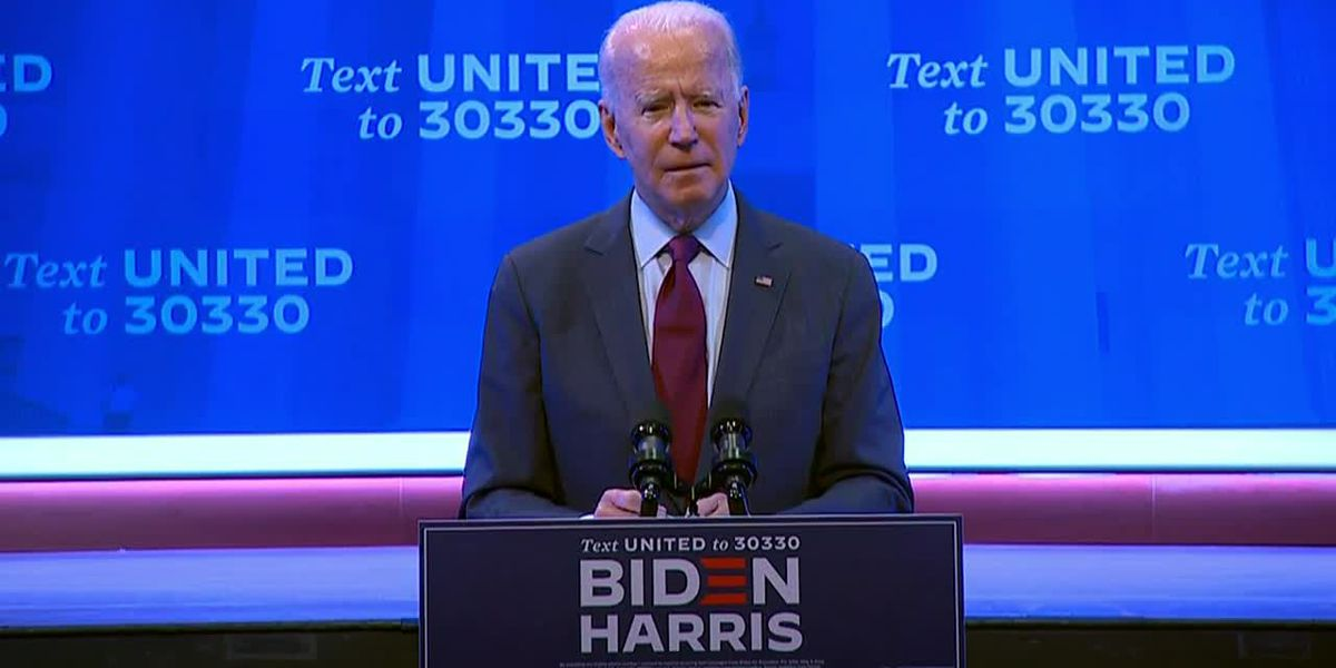 Biden urges senators to 'take a step back from the brink'