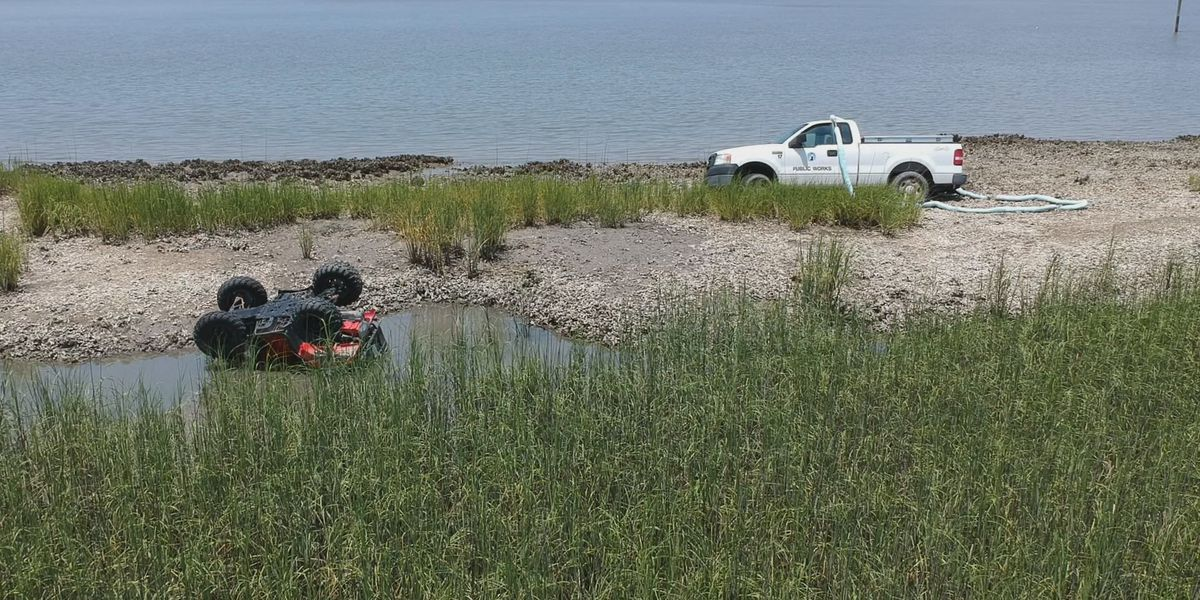 Department of Natural Resources investigates vehicles stuck in Tybee marshlands