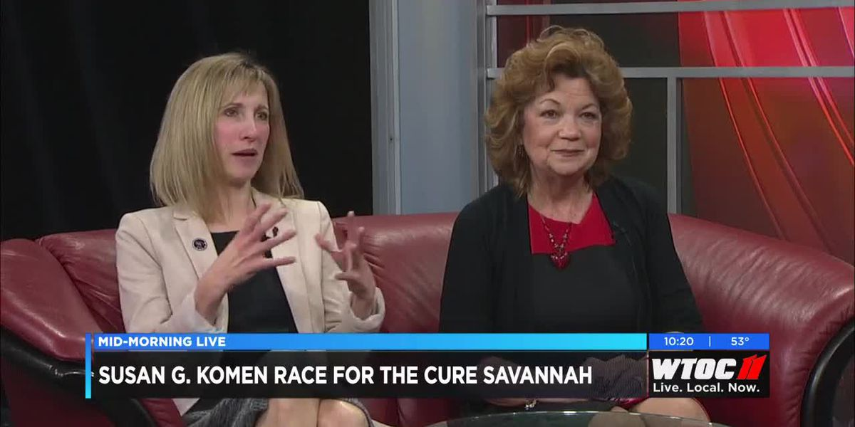 Susan G. Komen Race for the Cure comes to Savannah in April
