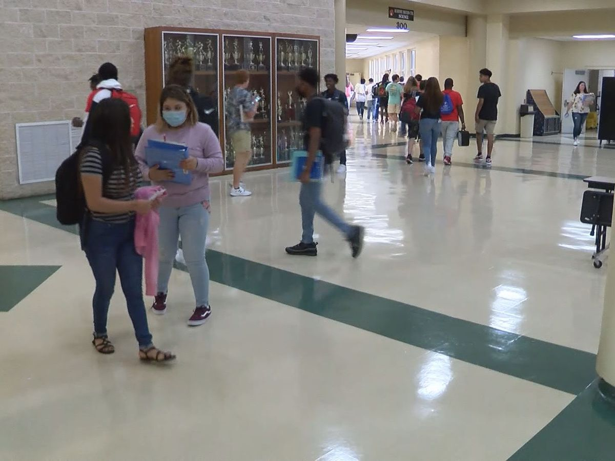 First day of school for Candler Co. students