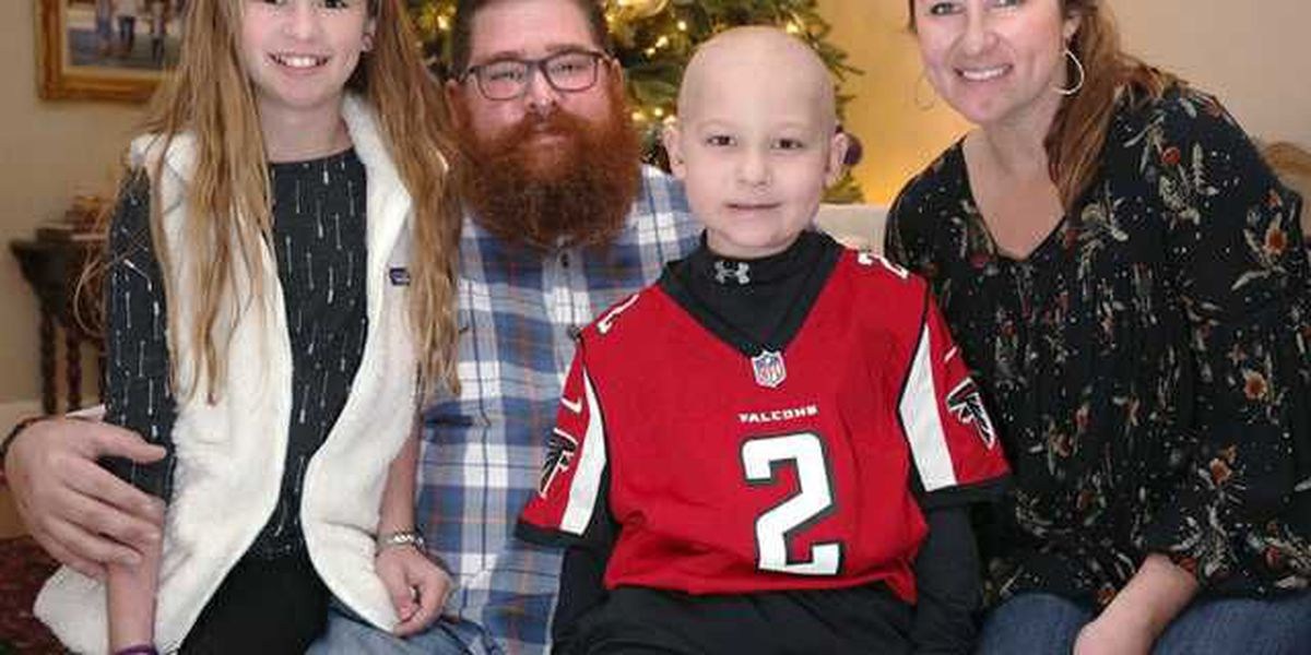 Georgia boy battling leukemia to be honorary Falcons captain