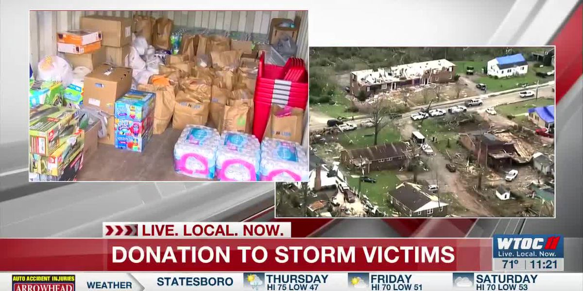 Rincon Police sending donations to tornado victims