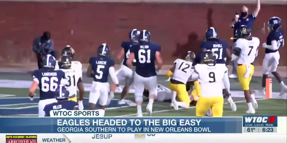 Eagles to the Big Easy: GA Southern to play in New Orleans Bowl