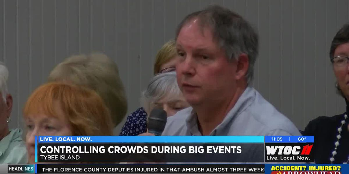 Tybee Island residents weigh in on controlling crowds during big events