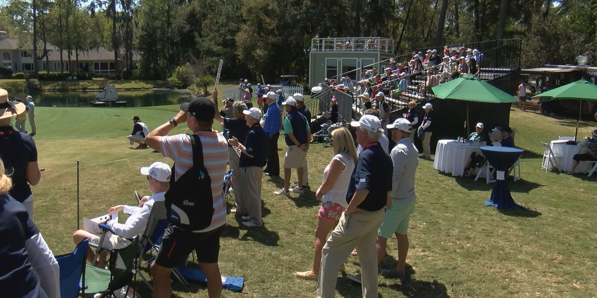 Savannah golf championship celebrates with party after play ends