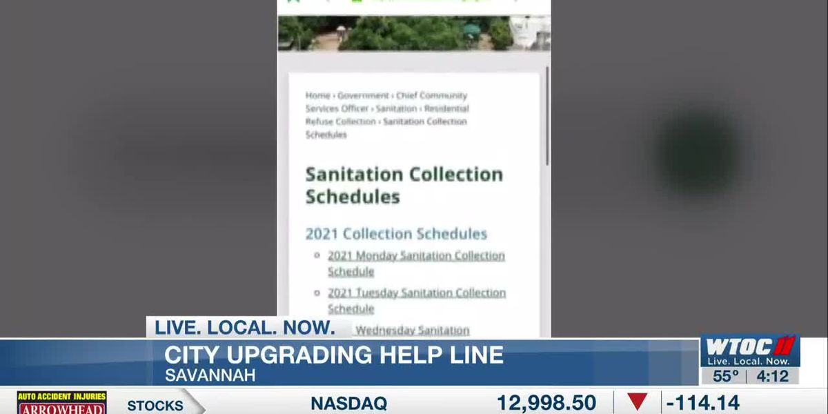 City of Savannah launches app for 311 service