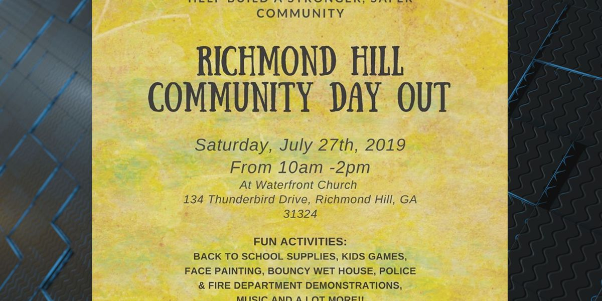 School supplies available at Richmond Hill Community Day Out