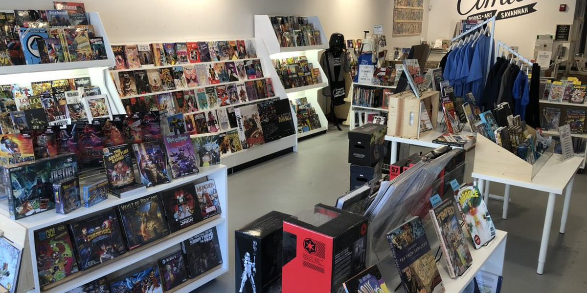 Local Comic Store Responds Creatively to COVID Challenges