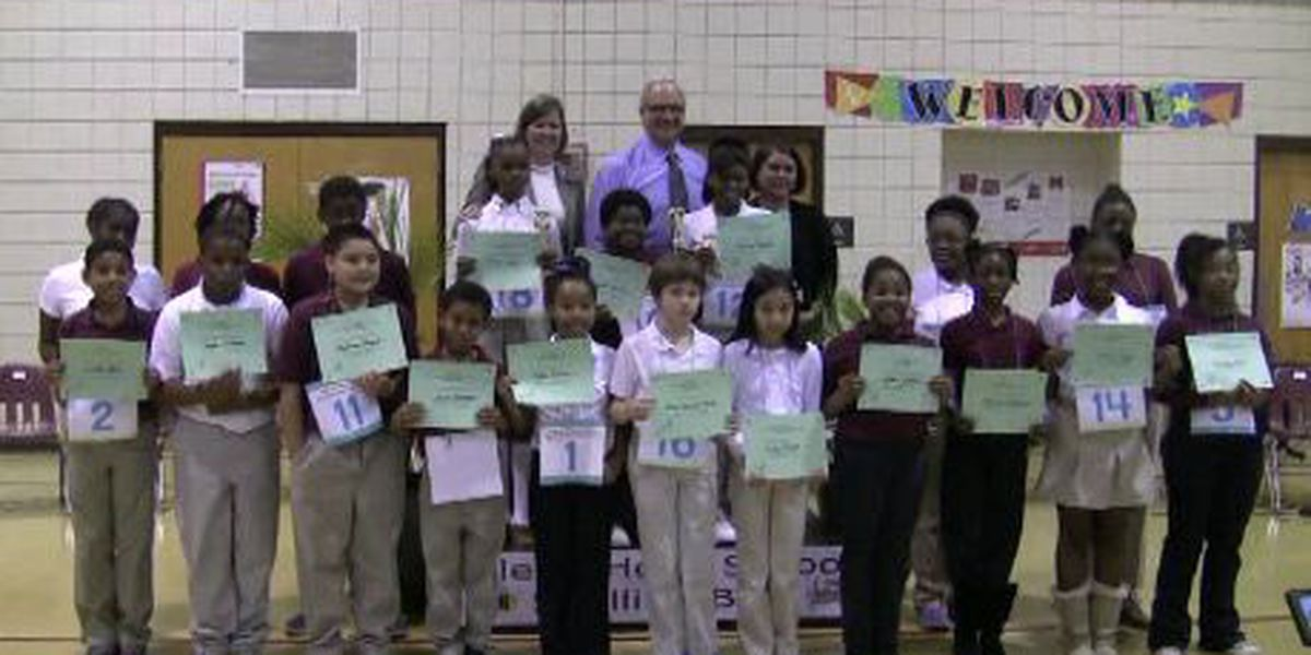 20 students compete in Isle of Hope spelling bee