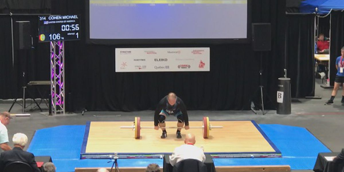 Good News: U.S. Masters Weightlifting coach