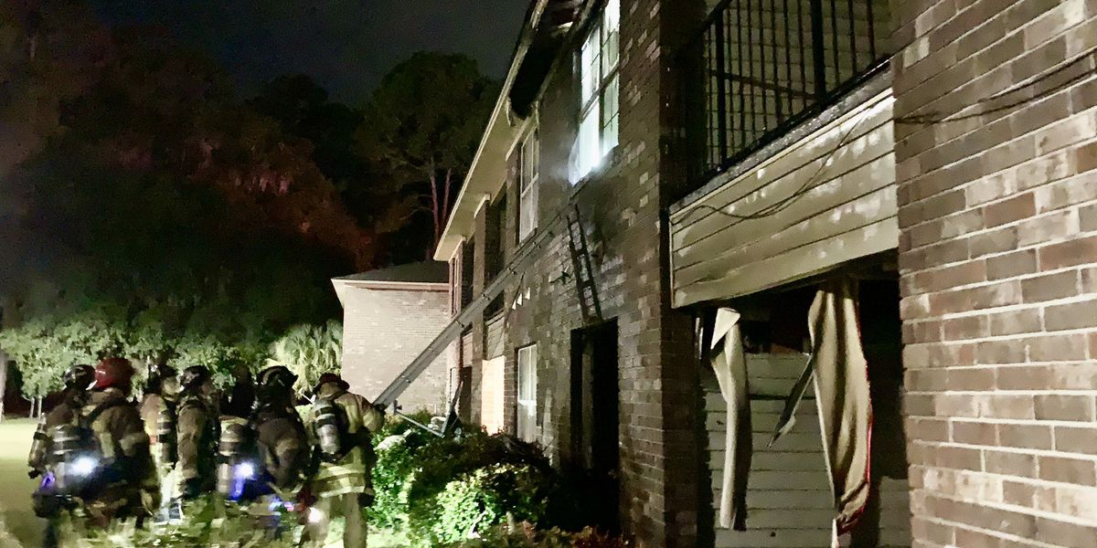 Early-morning fire damages apartment on Savannah's Southside