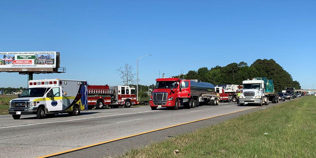 Crash causes morning delays on eastbound I-16 near Pooler