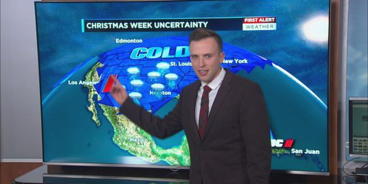 Uncertainty continues: Active weather pattern may impact United States around Christmas holiday