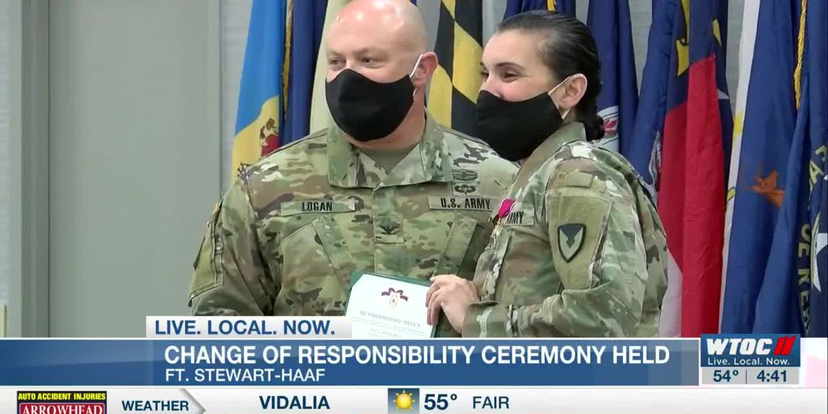Change of Responsibility Ceremony held at Fort Stewart/Hunter Army Airfield