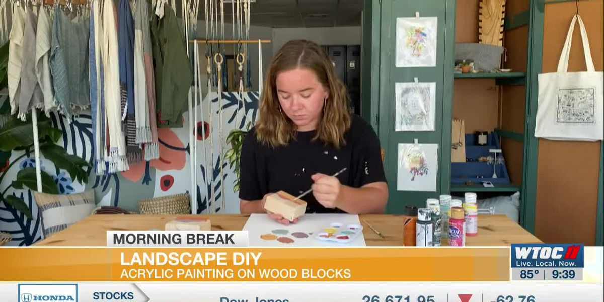 DIY landscape painting with Allison Hall