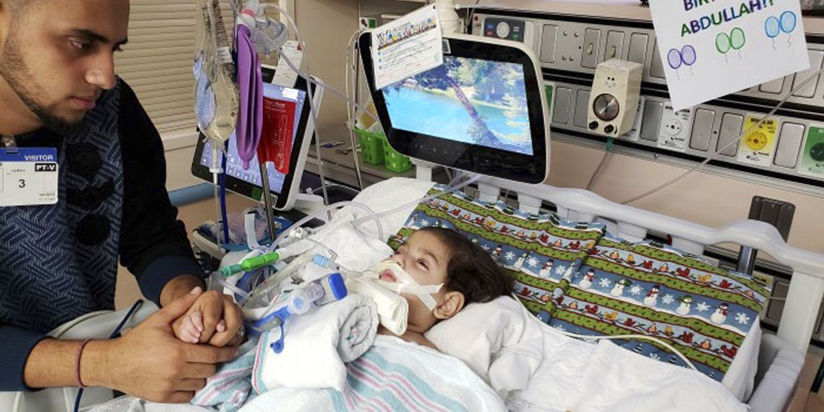 Yemeni mom wins travel ban waiver to see dying son in US