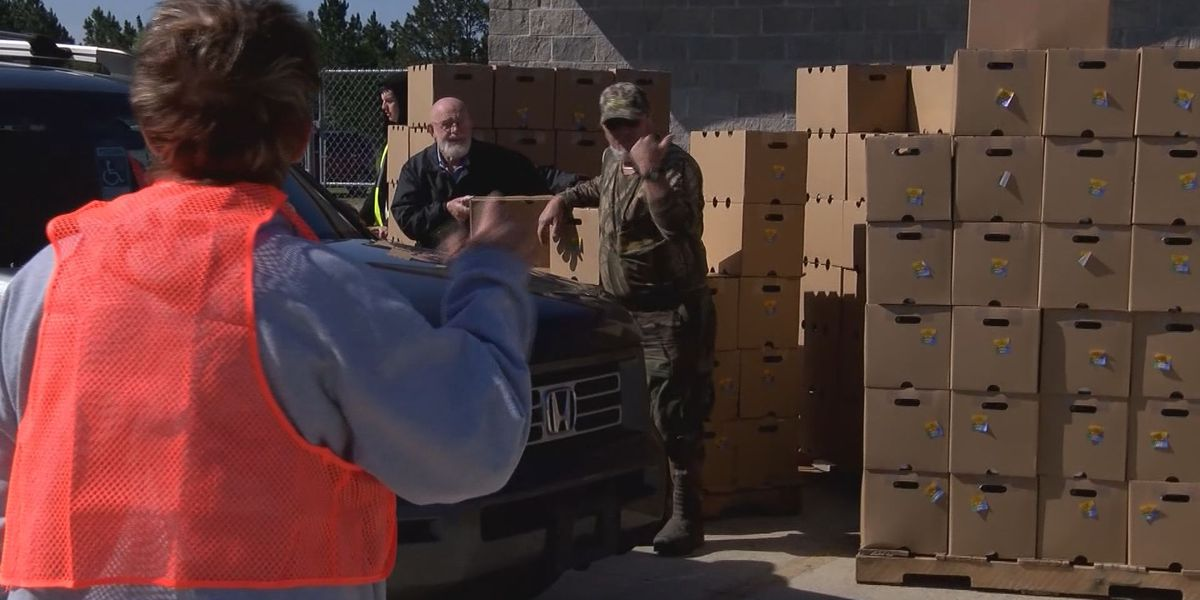 Weekly food drops helping families in Toombs, surrounding counties