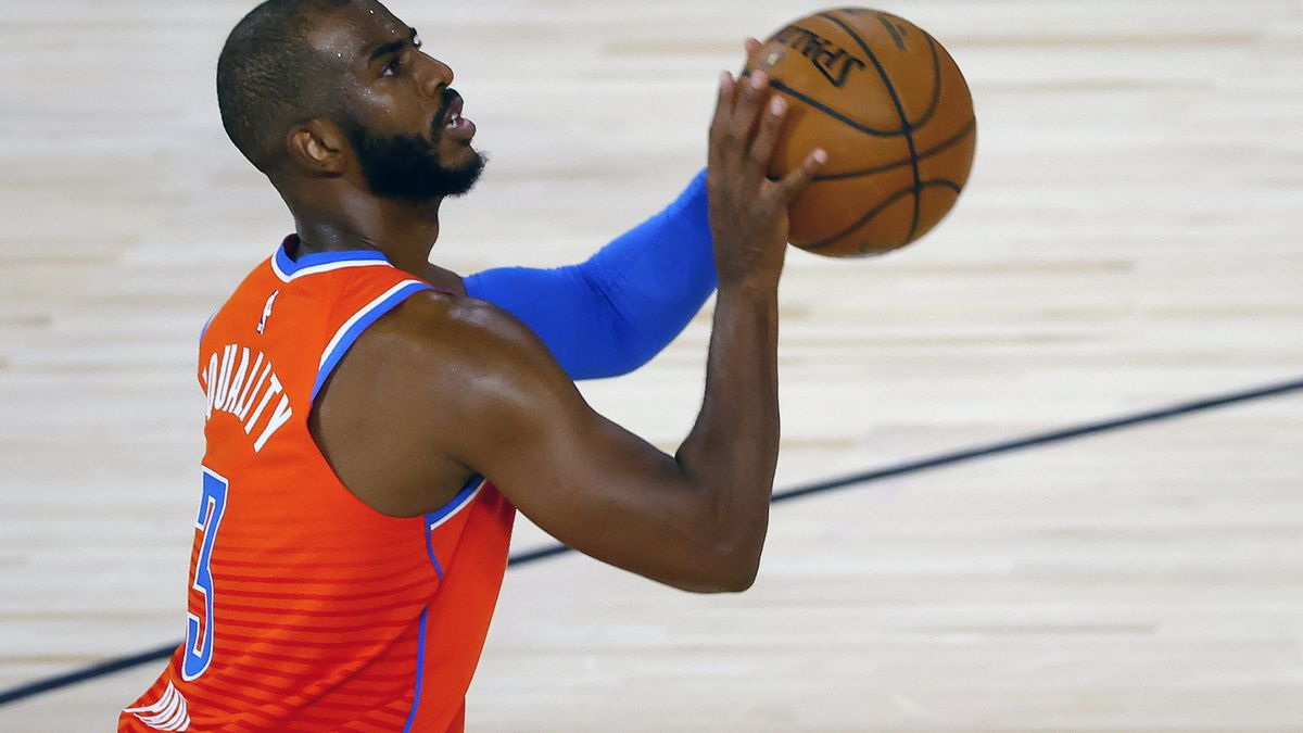 NBA star Chris Paul reps Savannah State on his sneakers