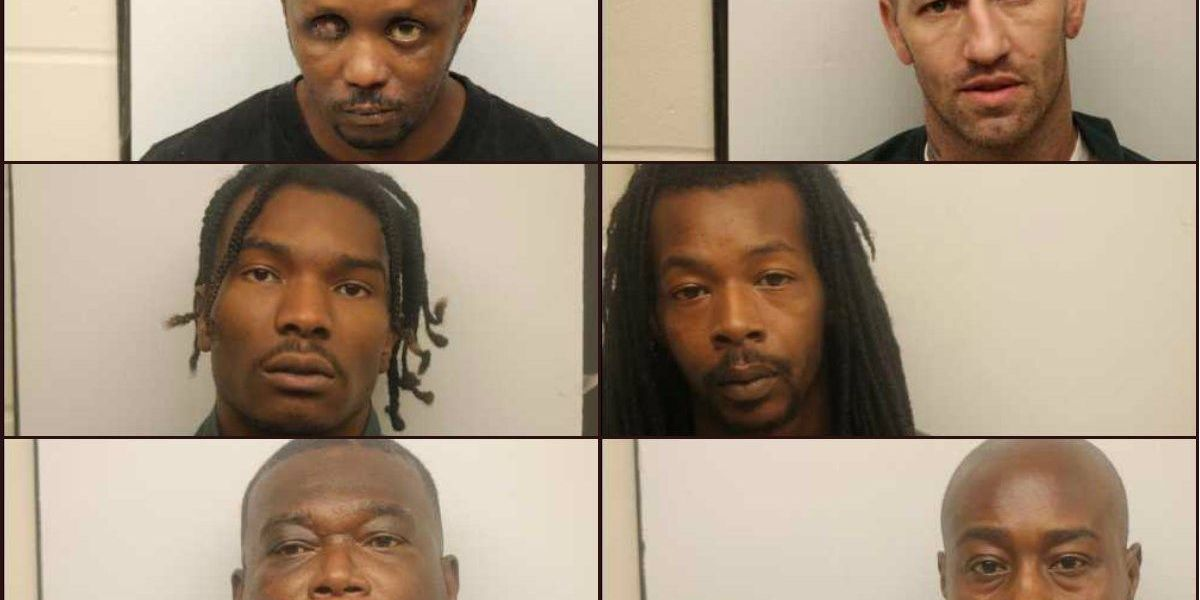 6 fugitives arrested in Savannah area as result of warrant sweep