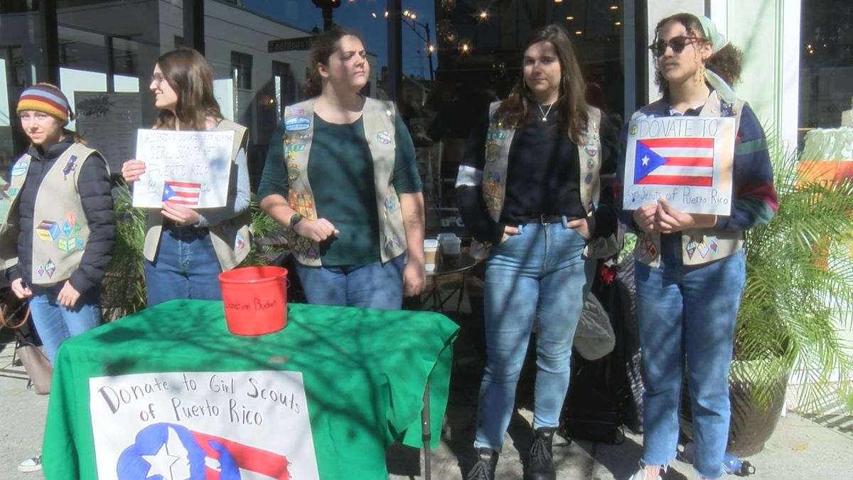 Georgia Girl Scouts hold fundraiser for Puerto Rico chapter