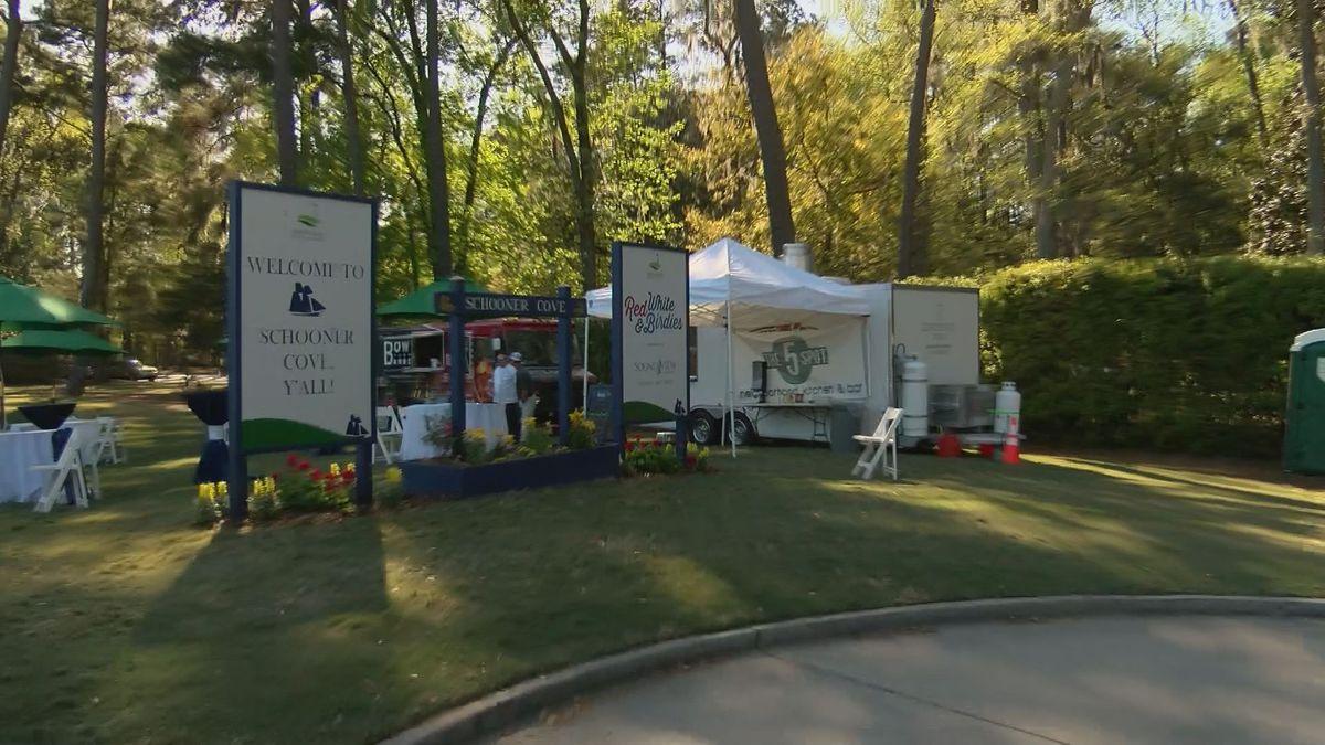Food trucks at Schooner Cove see Savannah Golf Championship as marketing opportunity